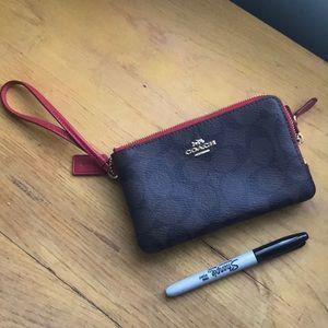 Handbags - Coach wristlet wallet